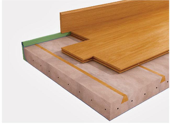 Posare il parquet inchiodato bricoportale fai da te e - Posare piastrelle su pavimento esistente ...