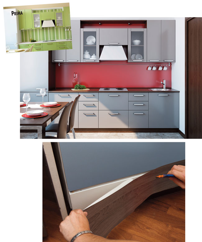 Pellicola adesiva per cucina - Pellicole adesive per rivestire mobili ...