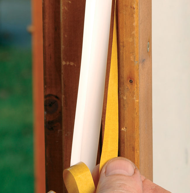 Paraspifferi per porte e finestre bricoportale fai da te e bricolage - Finestra in legno fai da te ...