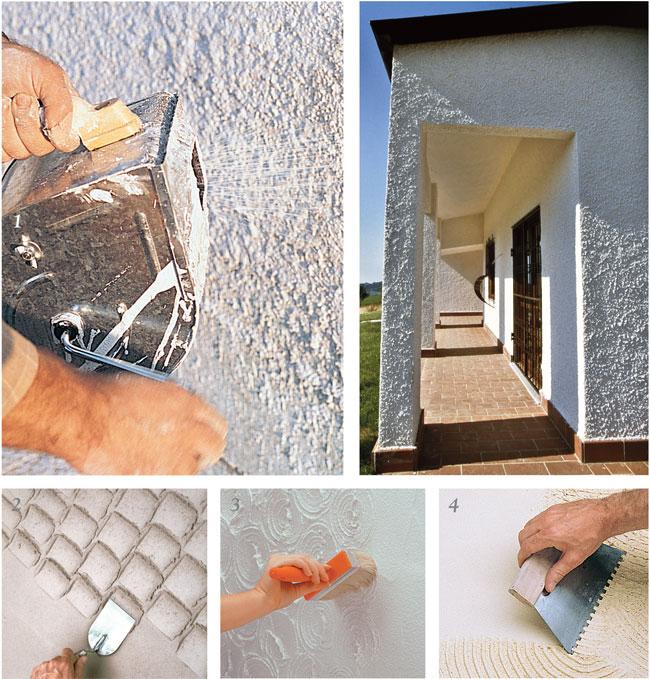 Come applicare l 39 intonaco ristrutturare casa bricoportale - Chiocciola per intonaco ...