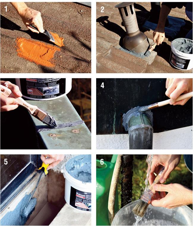 come applicare il silicone liquido