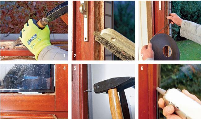 Come installare il vetrocamera bricoportale fai da te e - Guarnizioni adesive per finestre ...