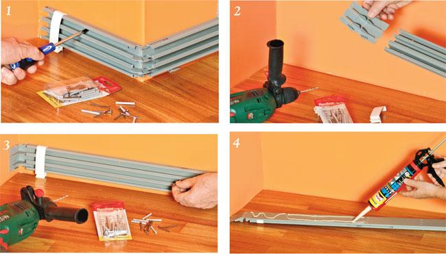 Applicare canaline esterne bricoportale fai da te e - Impianto elettrico esterno canaline ...