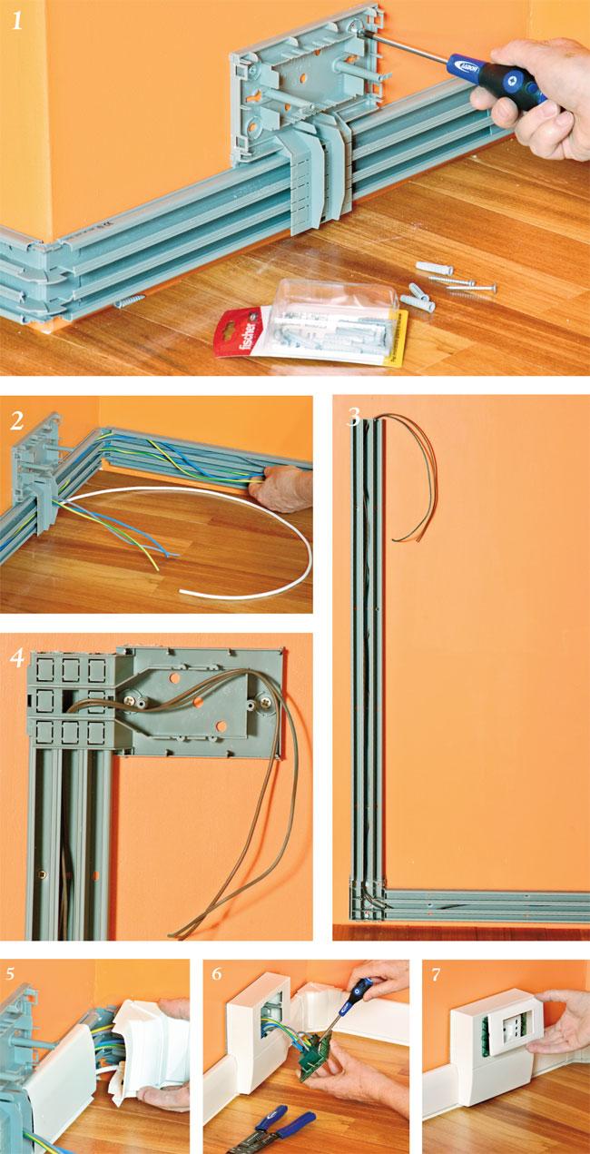Applicare canaline esterne bricoportale fai da te e - Tubi a vista in casa ...