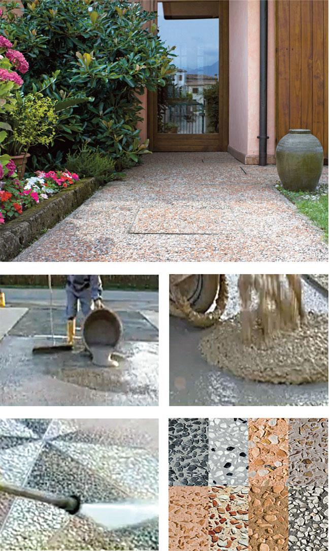 Nuove pavimentazioni per esterni bricoportale fai da te - Pavimentazione giardino ...