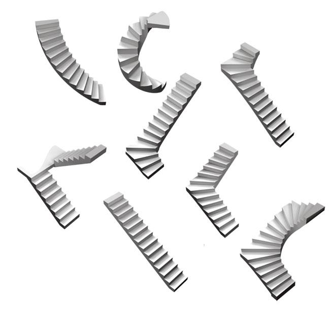 Scale prestampate bricoportale fai da te e bricolage for Piani di casa con scala curva