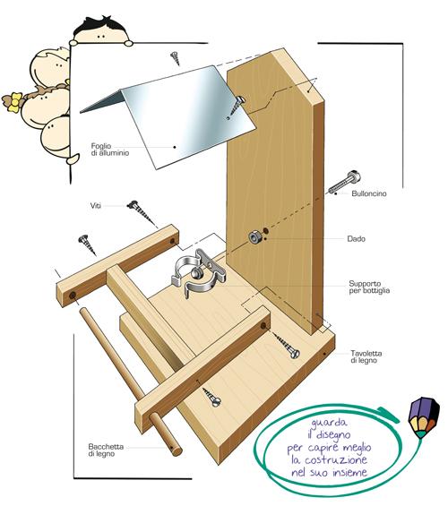Ben noto Mangiatoia per uccelli in kit - Bricoportale: Fai da te e bricolage IE96