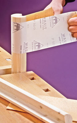 Carta abrasiva per legno