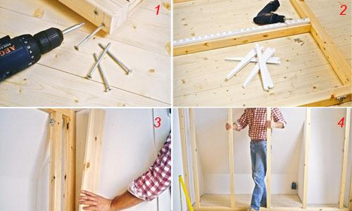 Costruire un armadio in mansarda - Bricoportale: Fai da te ...