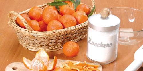 ingredienti per la marmellata di clementine