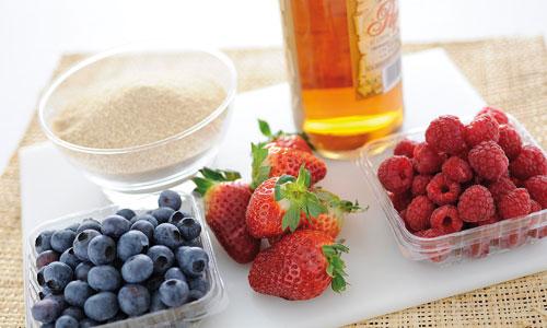dessert frutta e rum