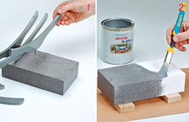 Portafrutta fai da te di design con recupero di ometti di - Bricolage legno idee ...