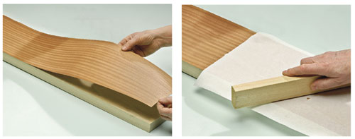 Come impiallacciare bricoportale fai da te e bricolage - Fogli adesivi per mobili ...
