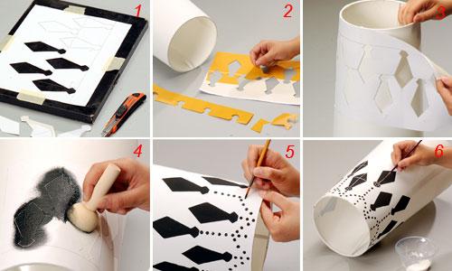 applicazione e realizzazione dello stencil
