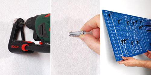 Pannello porta utensili bricoportale fai da te e bricolage for Trapano bricoman