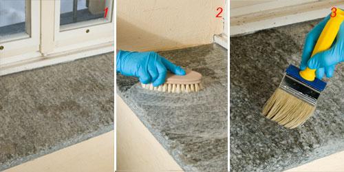 come pulire il granito