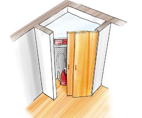 Organizzare lo spazio in casa - Bricoportale: Fai da te e bricolage