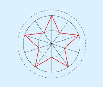 Disegnare Una Stella Di Natale.Decorazioni Natalizie Di Carta Per L Albero Bricoportale Fai Da
