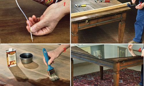 Come restaurare un tavolo bricoportale fai da te e - Restaurare un mobile in legno ...