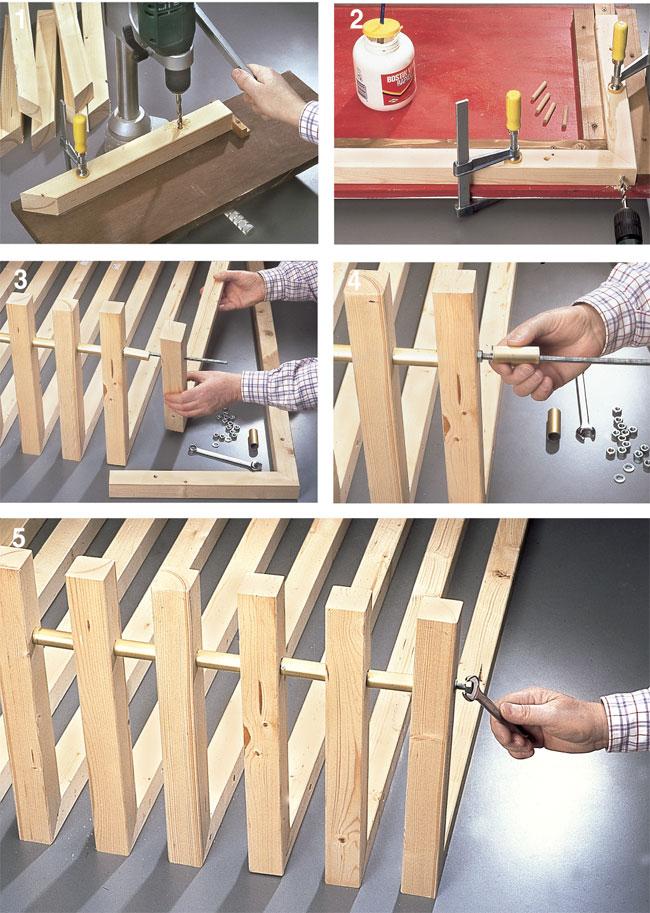 costruire un letto 2