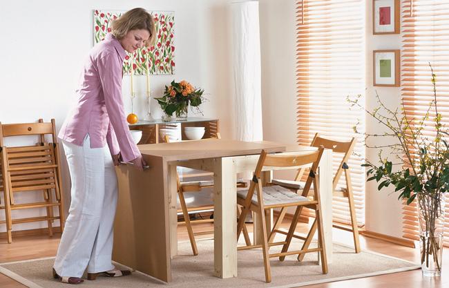 Come costruire un tavolo estensibile bricoportale fai da te e bricolage - Tavolo cucina fai da te ...