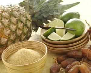 ricette ananas e datteri