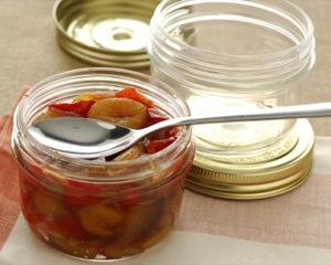 marmellata peperoni e albicocche