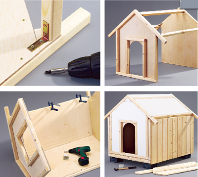 Progetto cuccia cane terminali antivento per stufe a pellet - Costruire una casetta ...
