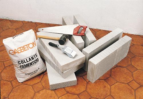 materiali per cemento cellulare