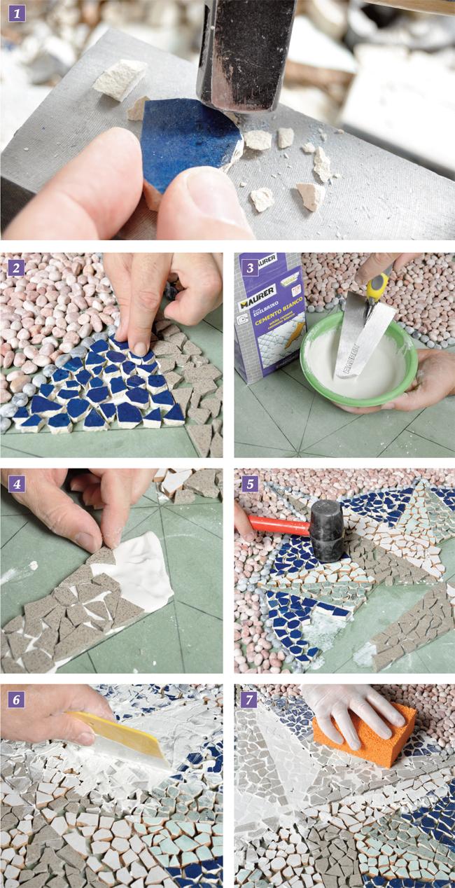 realizzare un mosaico