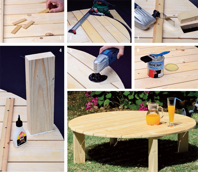Costruire un tavolino con i bancali bricoportale fai da - Costruire tavolino ...