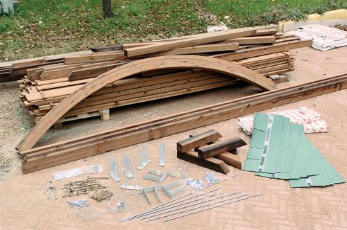 Installare il carport in legno bricoportale fai da te e for Perline bricoman