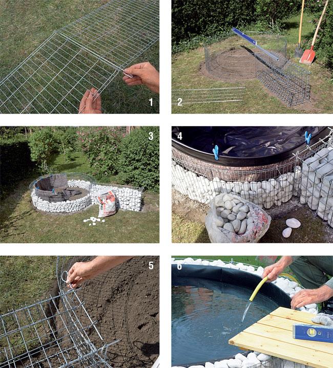 Costruire un laghetto fai da te bricoportale fai da te for Immagini di laghetti artificiali