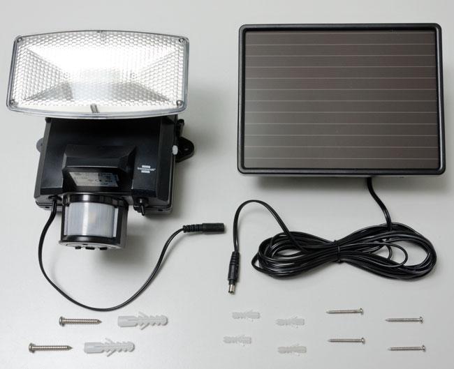 faretto solare, luce solare, installare un faretto solare, installare una luce solare, faretto led solare, lampada solare,