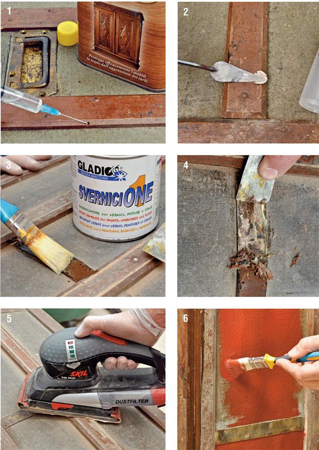 Restaurare un baule antico - Bricoportale: Fai da te e ...