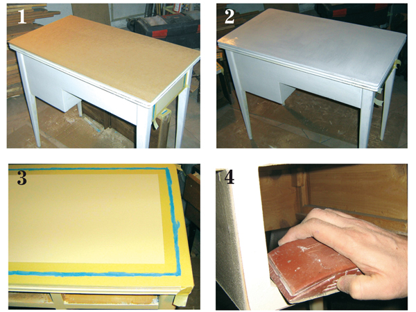 Step by step shabby chic