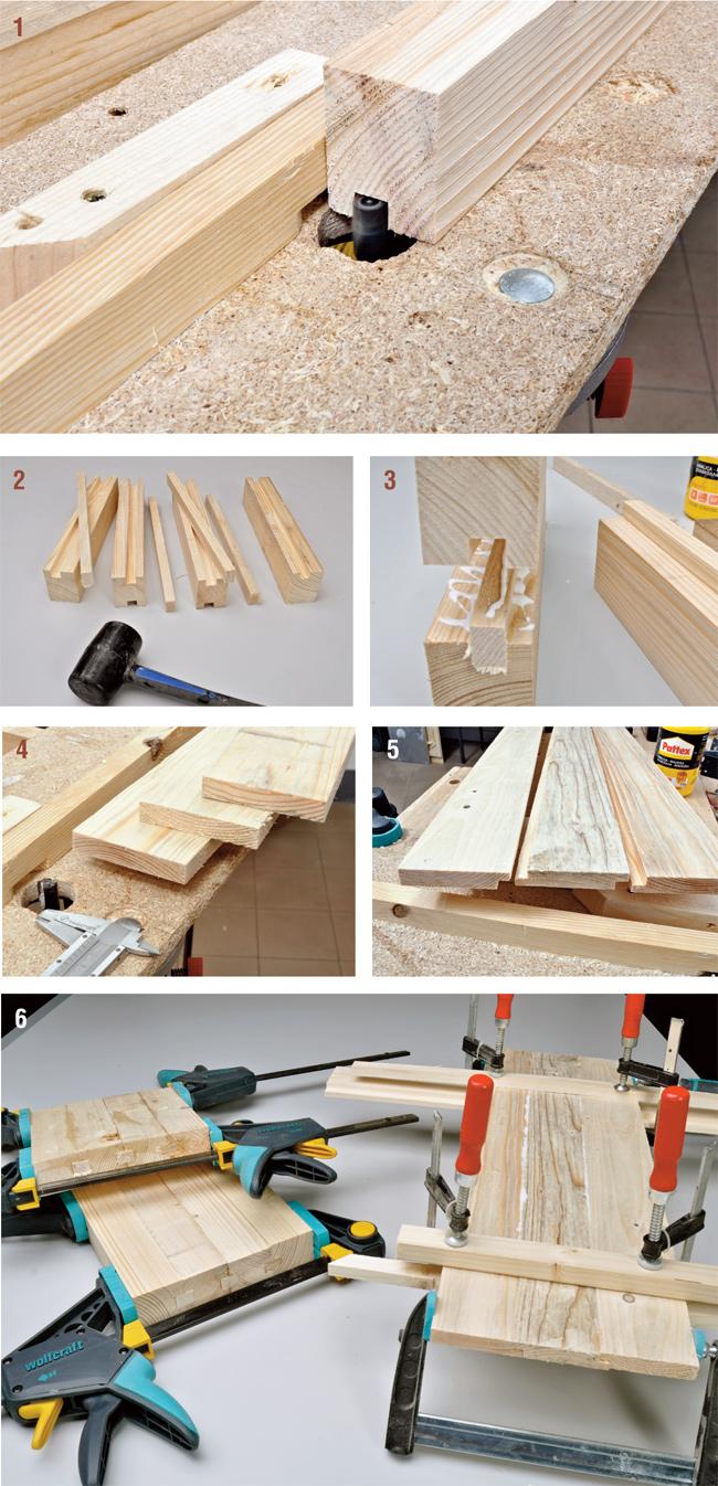 Comodino fai da te bricoportale fai da te e bricolage for Costruire uno scuro in legno
