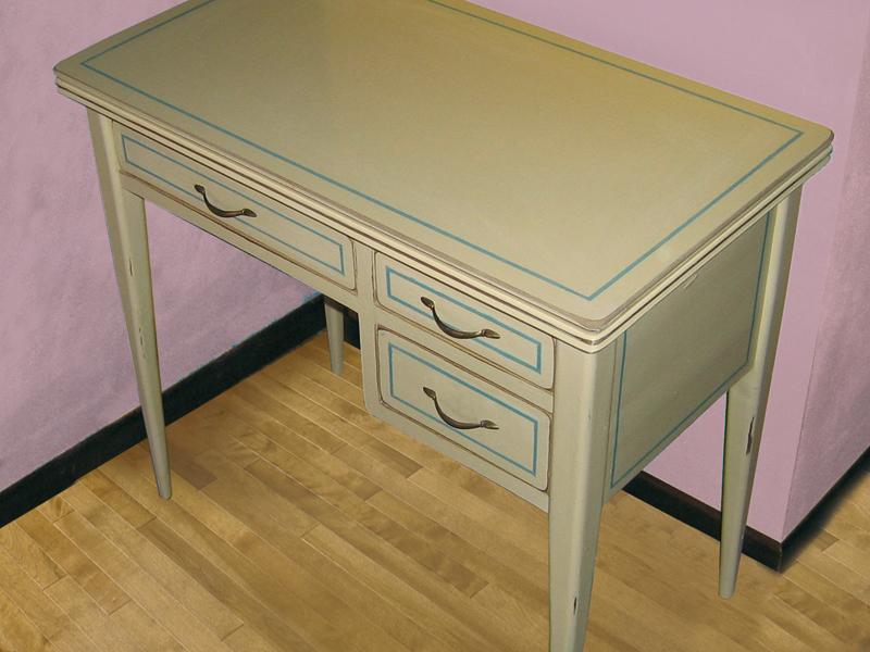 La scrivania completata