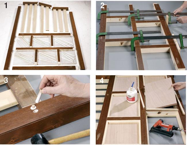 Awesome unione listelli with creare con il legno - Costruire un mobile in legno ...