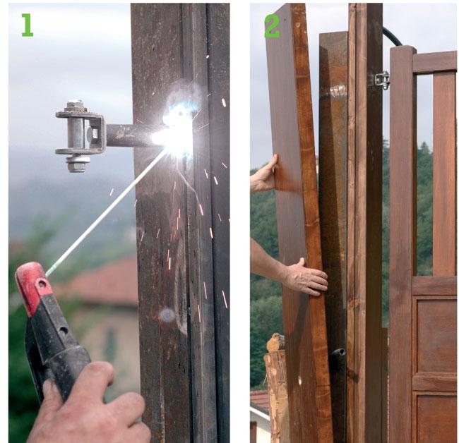 Favoloso Come costruire un cancello in legno - Bricoportale: Fai da te e  TH16