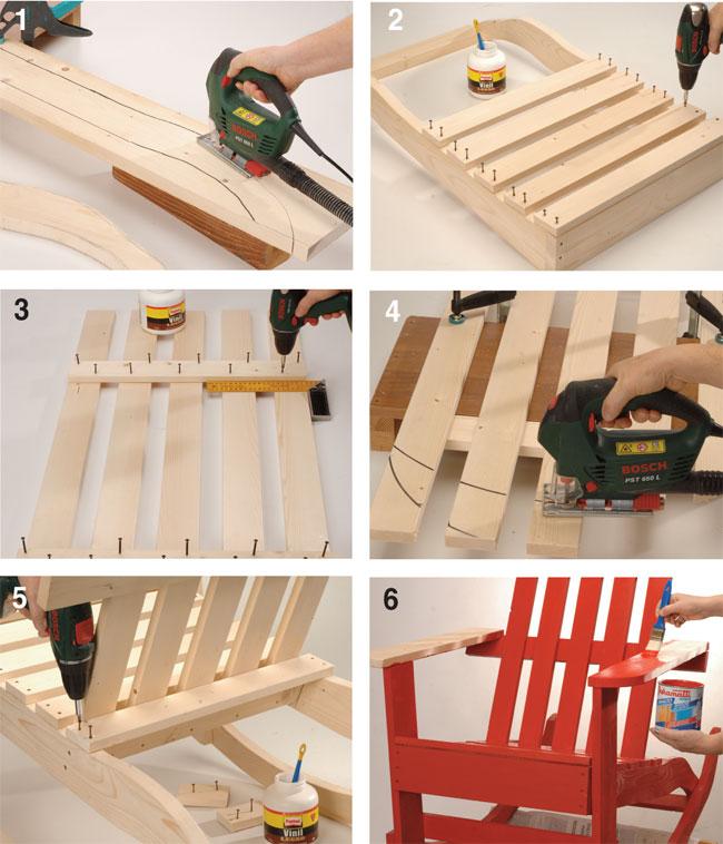 Come costruire una sedia in legno xr85 regardsdefemmes - Costruire sedia a dondolo ...