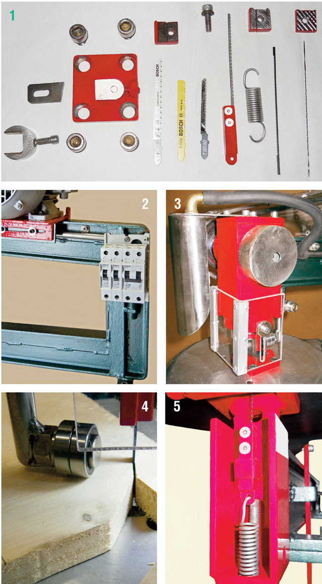 particolari meccanici traforo elettrico