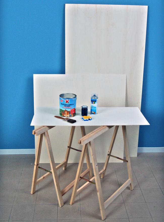 Tavolo con cavalletti fai da te - Bricoportale: Fai da te e bricolage