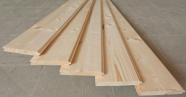 Costo tavole legno perlinato