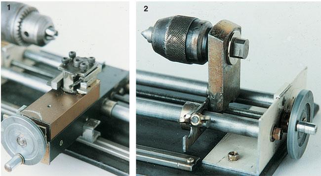 Tornio fai da te professionale e hobbistico costruzione for Tornio per legno con copiatore usato