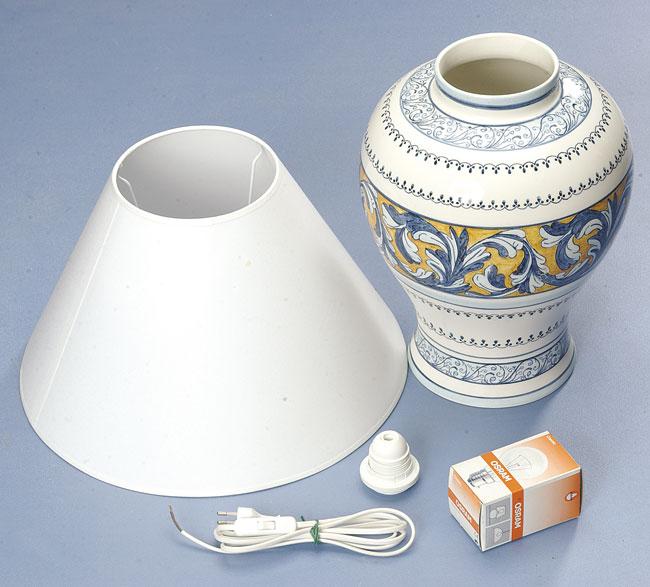 Abat jour di porcellana fai da te - Bricoportale: Fai da te e bricolage