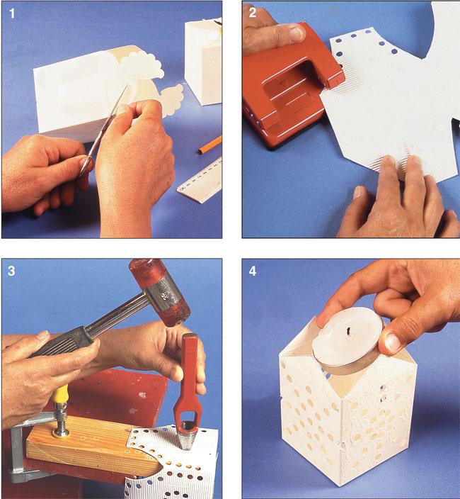 Conosciuto Portalumini fai da te di cartone - Bricoportale: Fai da te e bricolage DZ63