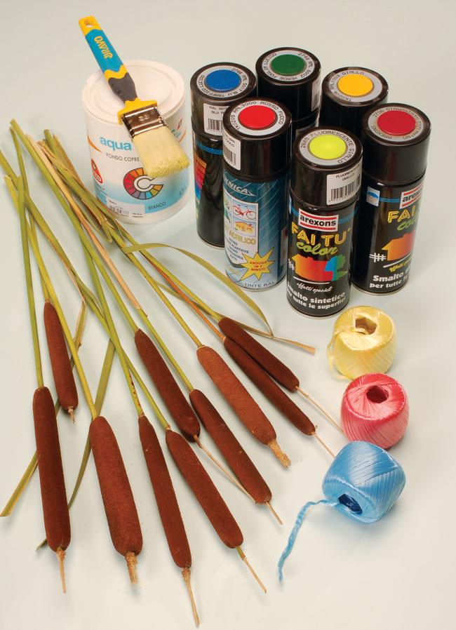 Tife decorative fai da te, tife, tifa, typha, decorazione, fai da te, idee creative
