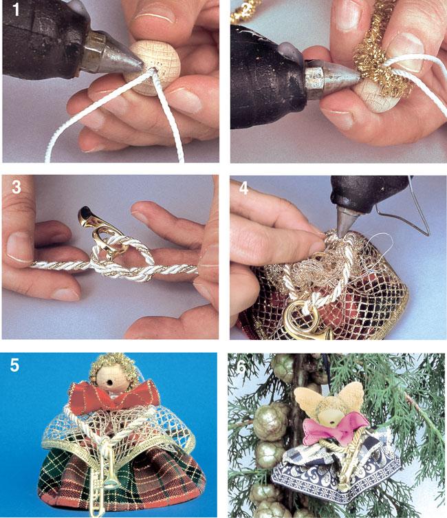 Préférence Angioletti natalizi fai da te - Bricoportale: Fai da te e bricolage CU41