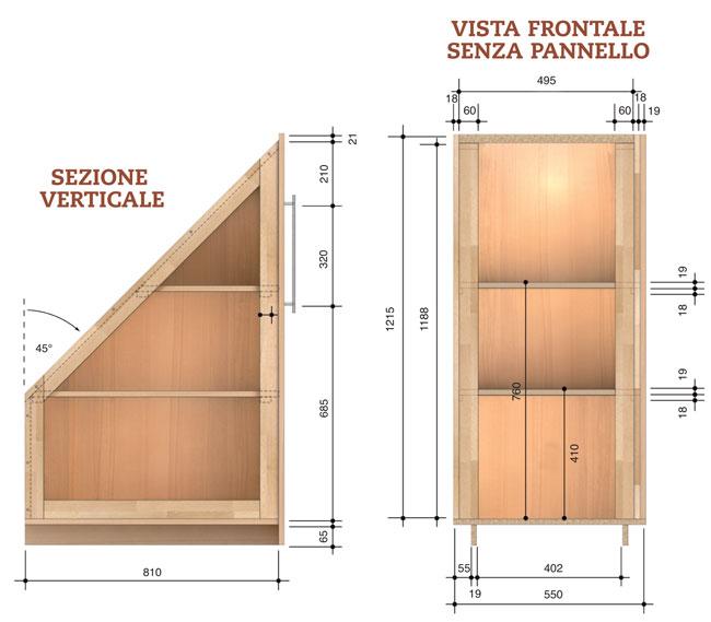 Costruire Armadio A Muro In Legno.Come Costruire Un Armadio Angolare Bricoportale Fai Da Te E Bricolage